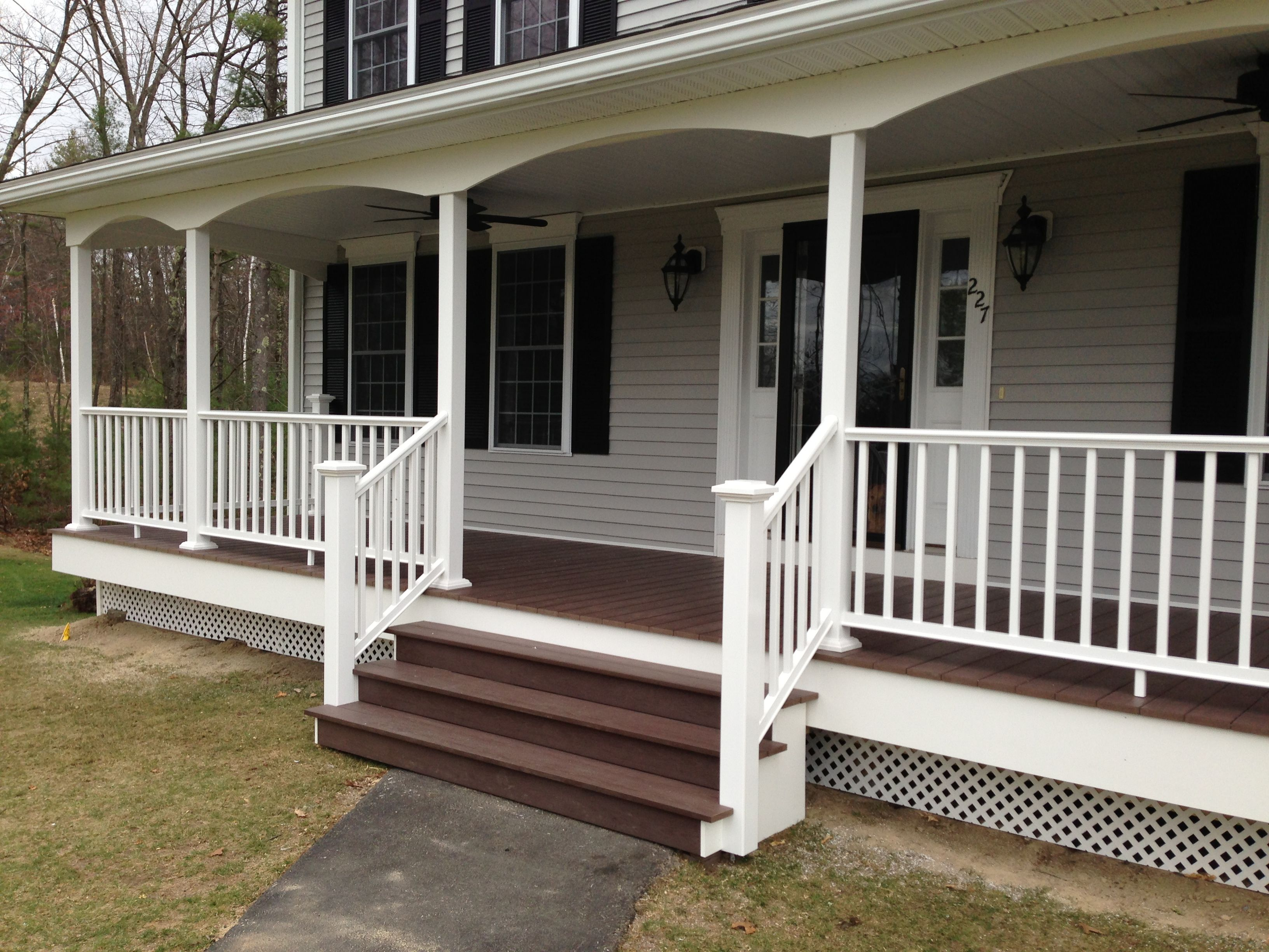 Manchester NH Front Porch is plete Allen Remodeling