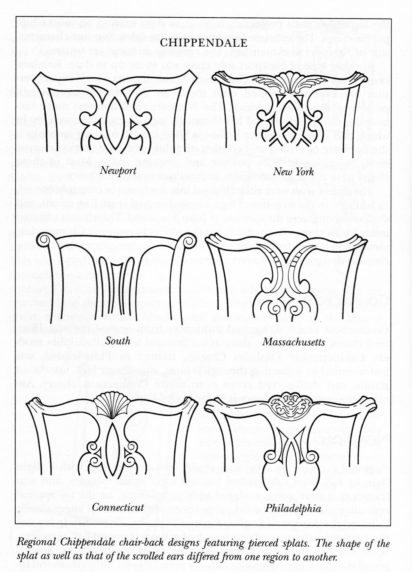 Chair antique queen anne chair the buzz on antiques antique chairs 101 - Chippendale Chair Back Designs Georgian Furnitureantique