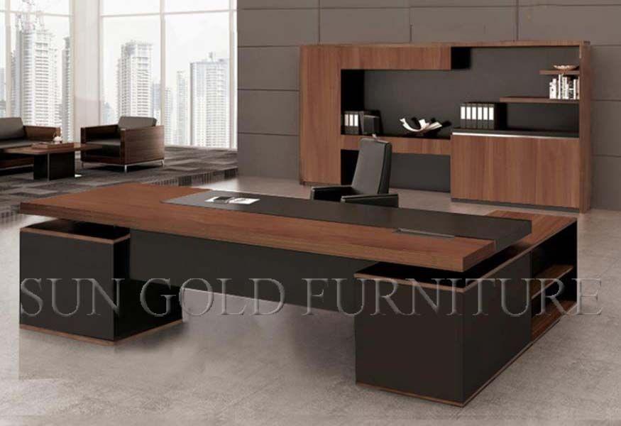 Foto de mesa moderna nova do gerente da mob lia de - Mesa escritorio moderna ...