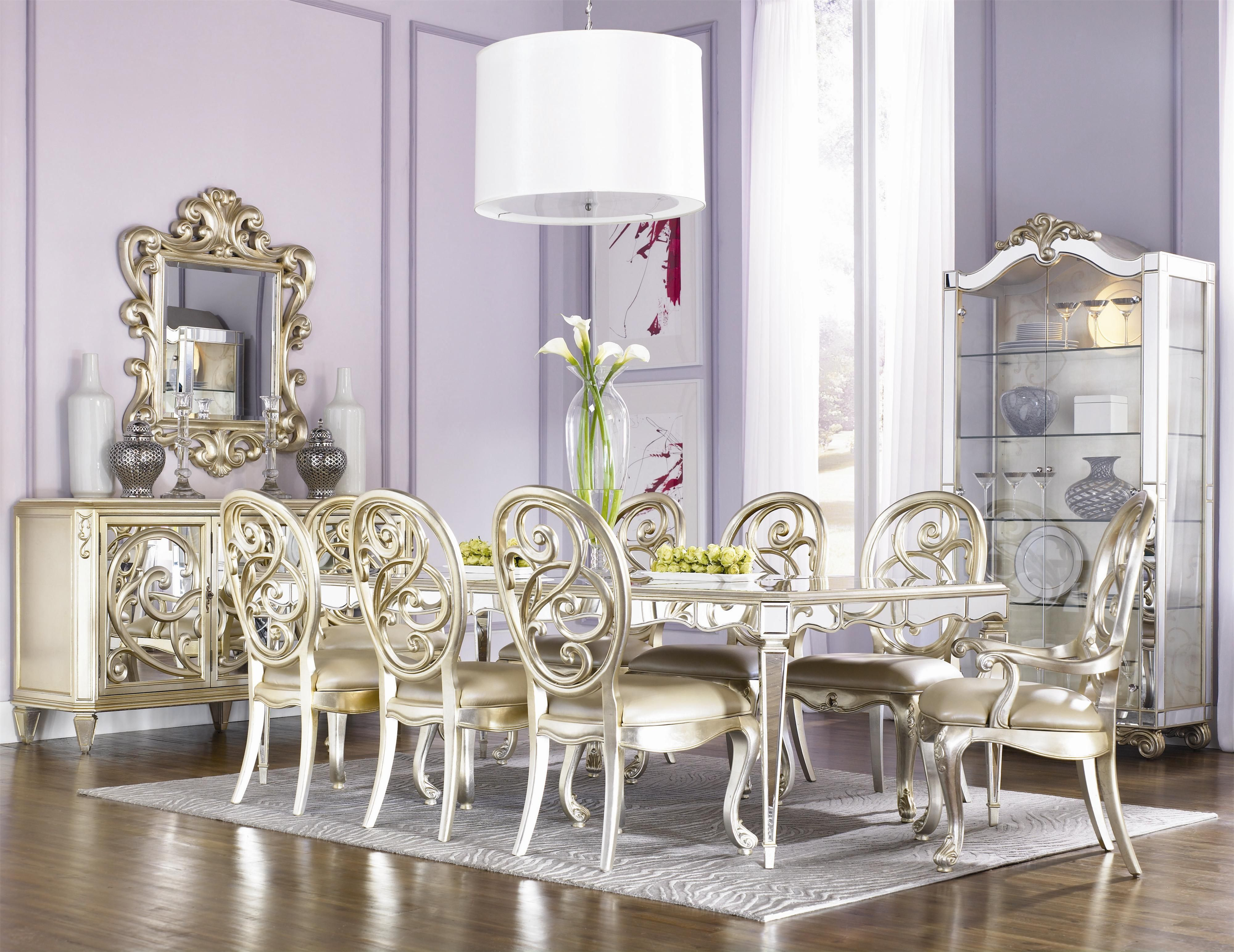 Jessica McClintock Couture Formal Dining Room Group By American Drew