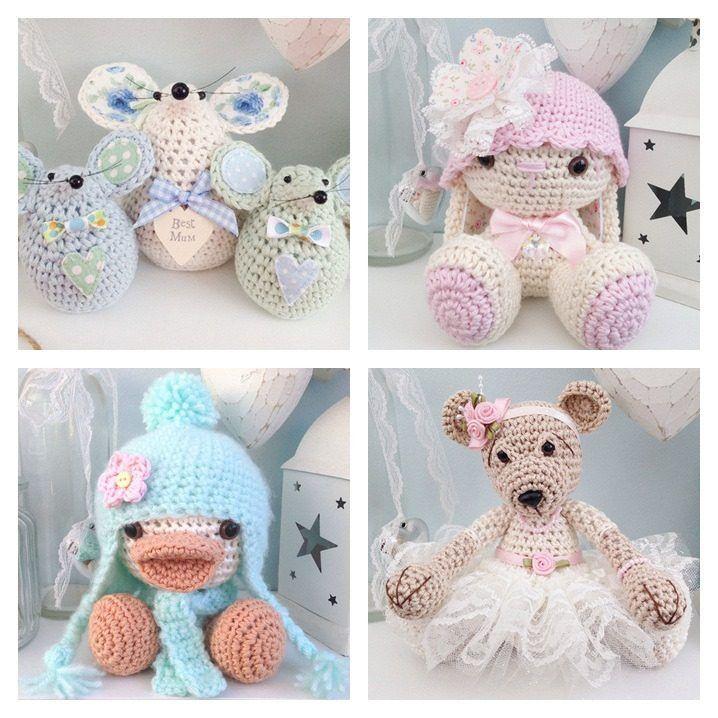 Cute Crochet Amigurumi By Tabby Craft Designs Miniature Crochet
