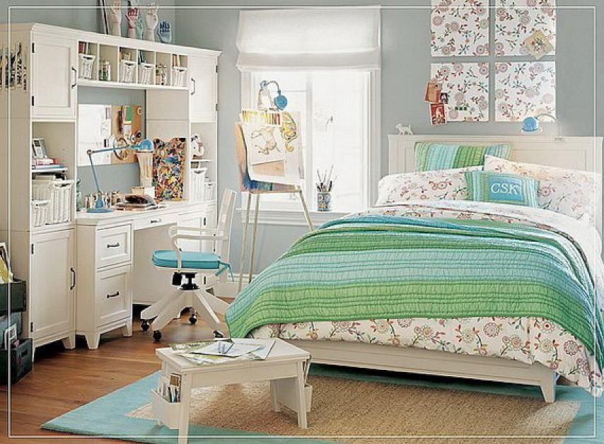 Modern Teenage Girl Bedroom Decorating Ideas With Study Desk Simple Teen Girls Bedroom Decorating Ideas 2018