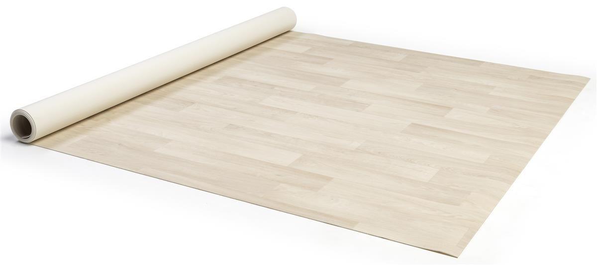 10 Rollable Vinyl Floor Kit Set Of 2 5 X10 Strips Pad Case Faux Wood Blonde Vinyl Flooring Trade Show Flooring Faux Wood