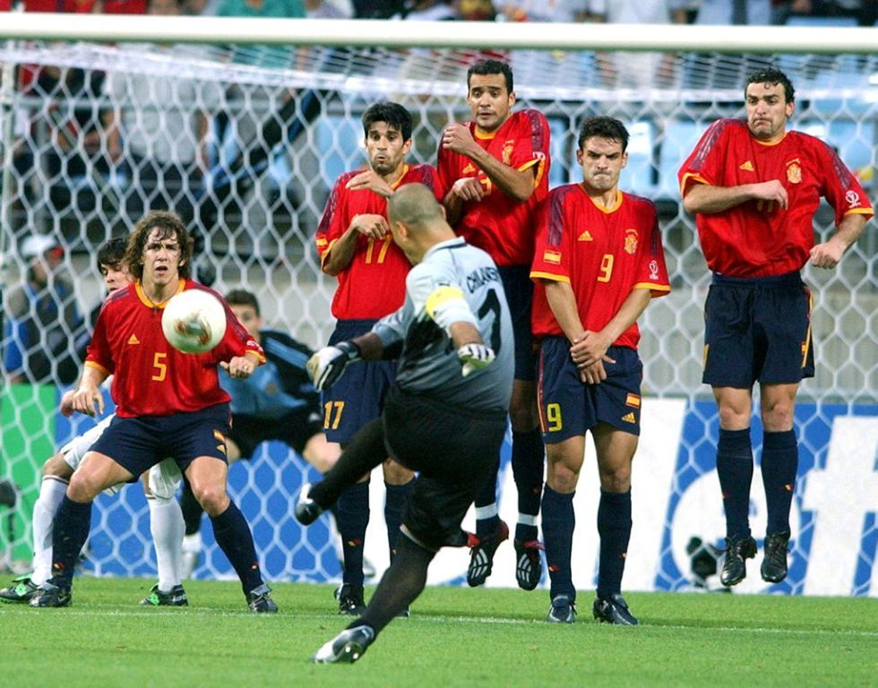 Chilavert vs Spain