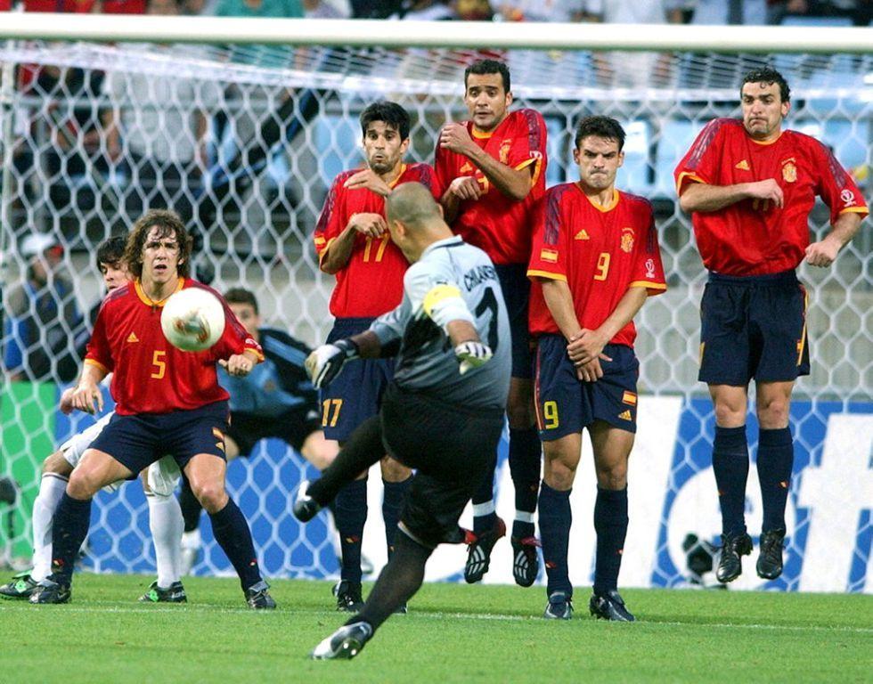 Chilavert vs Spain