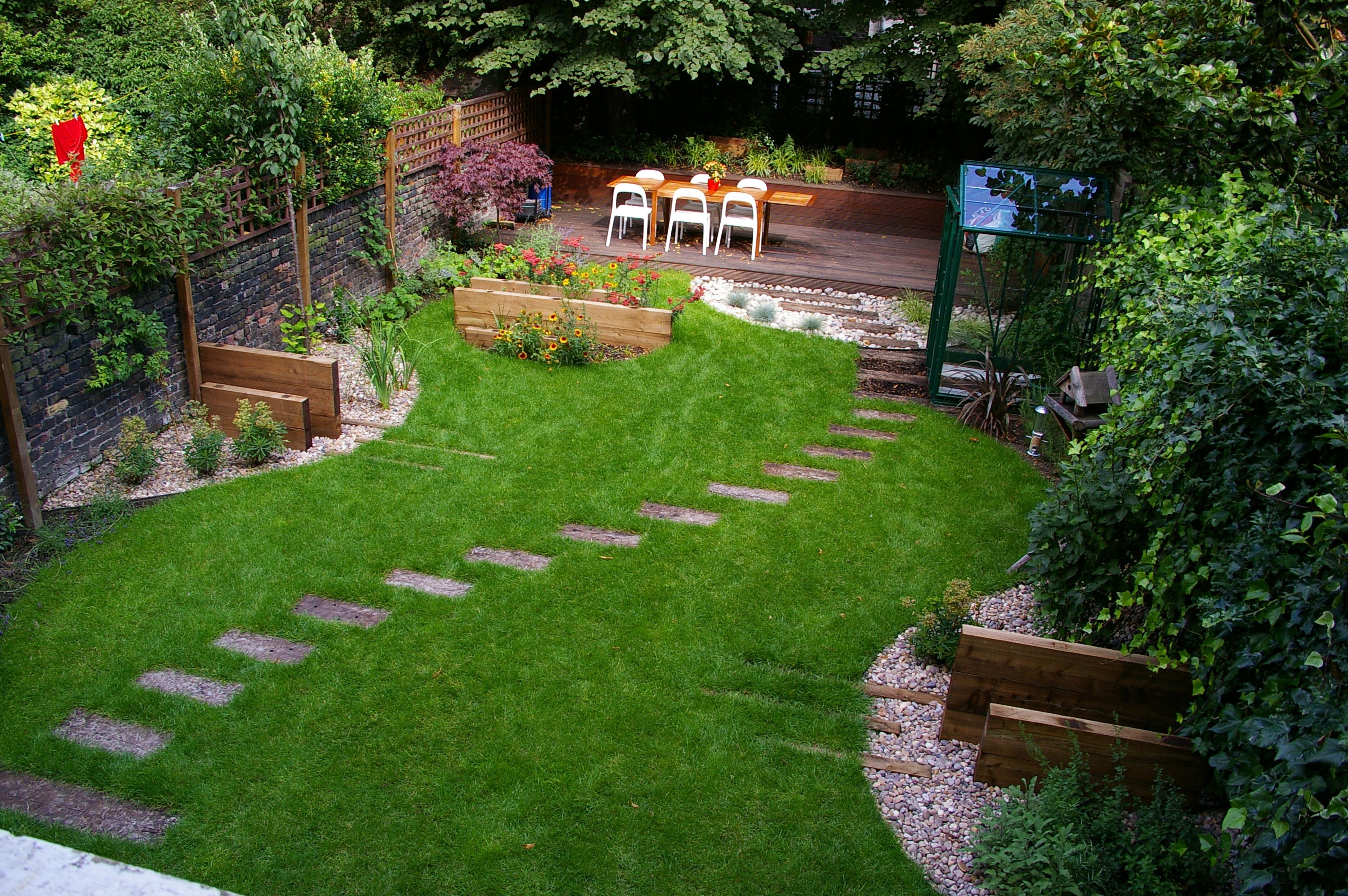 Small Backyard Landscape Ideas Small Garden Landscaping For Regarding Smallu2026
