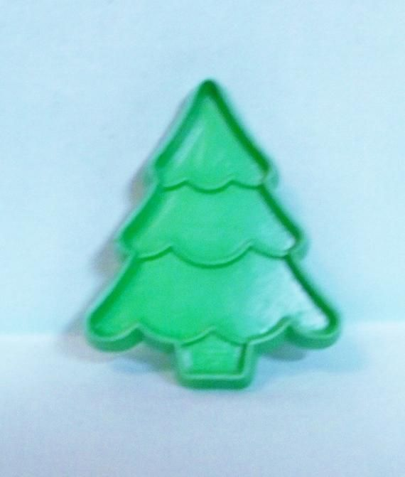 Miniature Snow Capped Christmas Tree Cookie Cutter - Green Hallmark