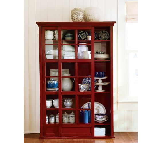 Garrett Gl Cabinet Pottery Barn Love The Color And Sliding Doors 52 Wide Dislike 1599 Really
