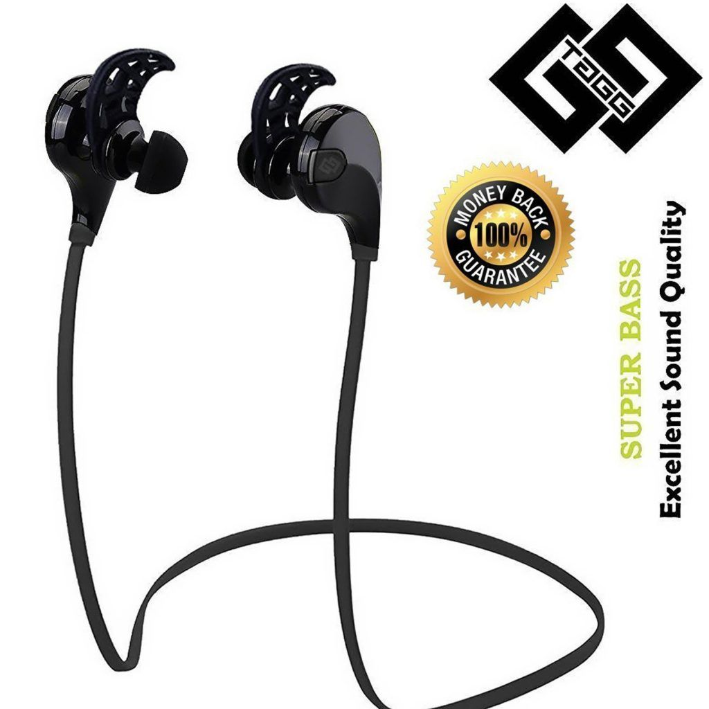 Tagg 07 Sports Wireless Bluetooth Headset With Mic At Rs 1 699 From Amazon Bluetooth Headset Wireless Bluetooth Earbuds