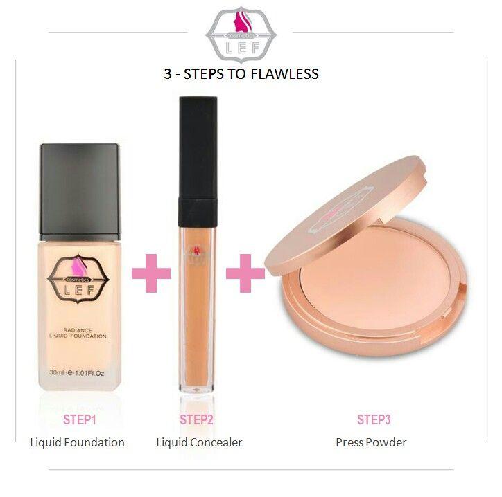 bf33484cc مكياج مثالي بثلاث خطوات #نعومي_الخليج #مكياج #بودره #فاونديشن #كونسيلر#ليف  #naomegulf #makeup #powder #lefcosmetics