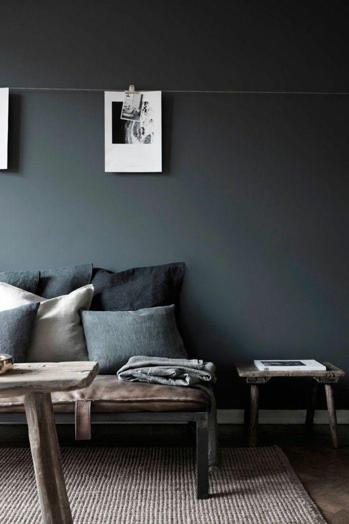 Le Gris Anthracite En 45 Photos D Interieur Salon Deco