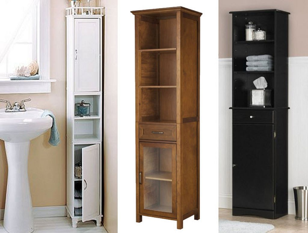 Tall Narrow Kitchen Cabinet Geeky Gadgets Amazing Bathroom Cabinets 1