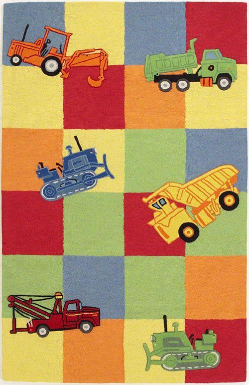 Trucks Galore Rug Kids Area Rugs Kids Rugs Kas Rugs