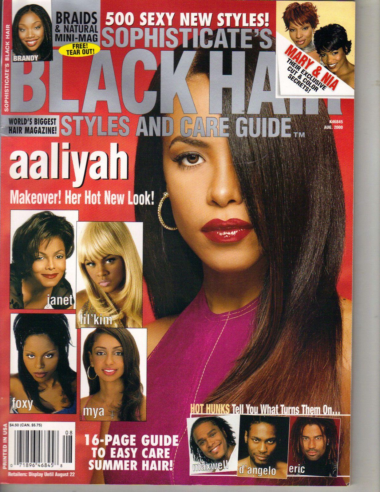Резултат слика за black hair magazinea from the 90s
