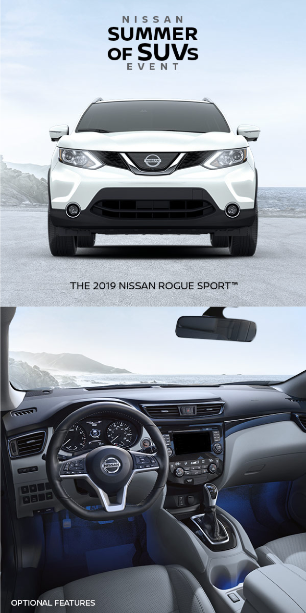 The best savings of the summer are here. Get to Nissan's
