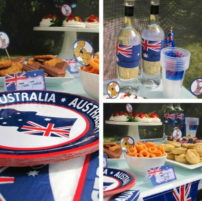 Australian Themed Party Props