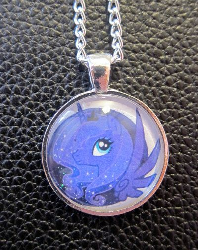 Princess luna my little pony pendant aloadofball Gallery