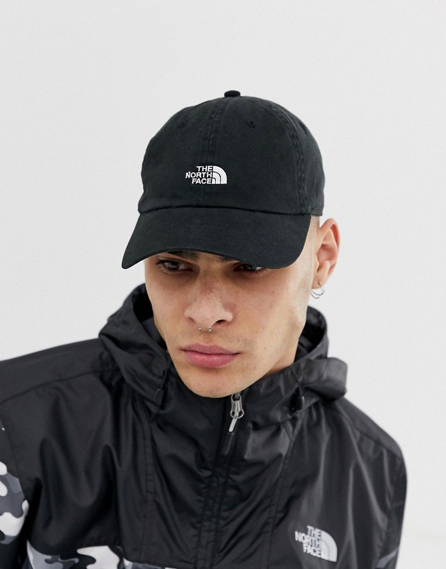 18541b5a6 THE NORTH FACE WASHED NORM HAT IN BLACK - BLACK. #thenorthface | The ...