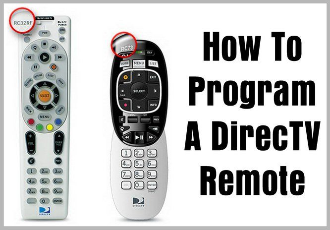 How To Program A Directv Remote Control Codes For Universal Remotes Remote Remote Control Direct Tv Remote