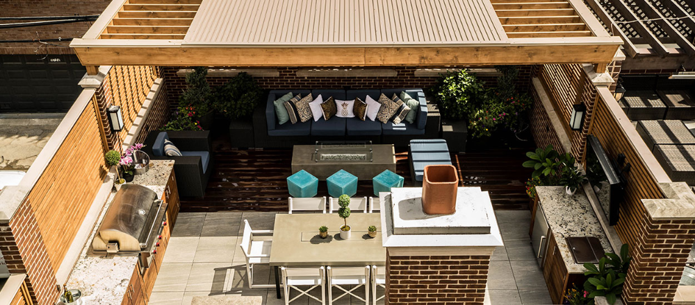 Residential Roof Deck Design Google Search In 2020 Garage Roof Porch Roof Design Building A Deck