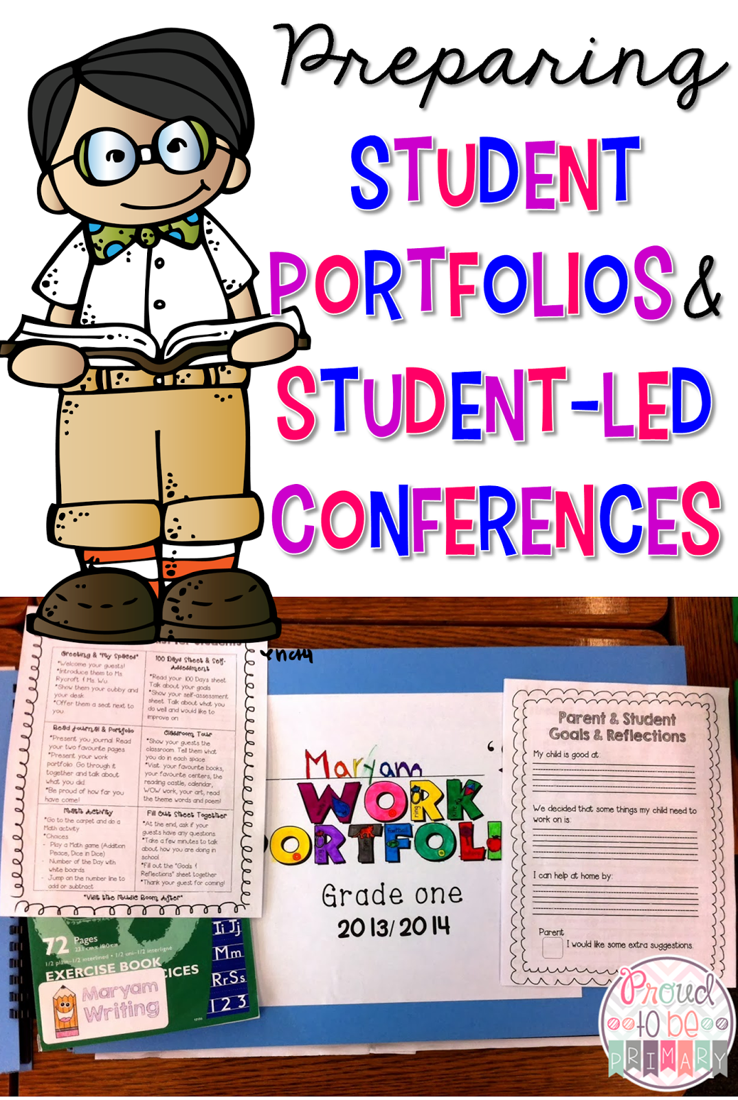 Using Student Portfolios To Prepare For Student Led