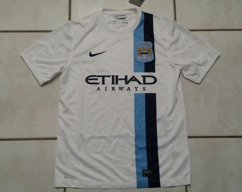 f547e0d298 NWT NIKE Manchester City 2013-2014 3rd Soccer Jersey Men s Medium  Nike   ManchesterCity