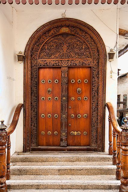 Simple Solid wood doors panel door house doors masonite doors front door design Ideas - Modern Real Wood Doors Simple