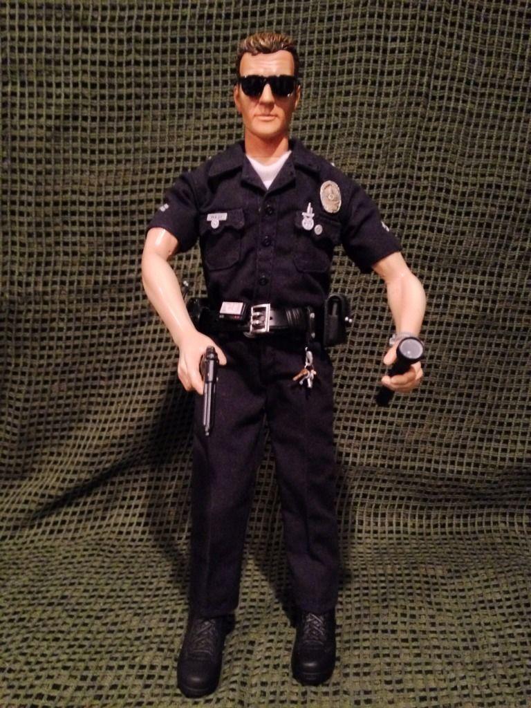 "1 6 Escala LAPD Oficial West BBI 12 ""figura de acción | eBay"