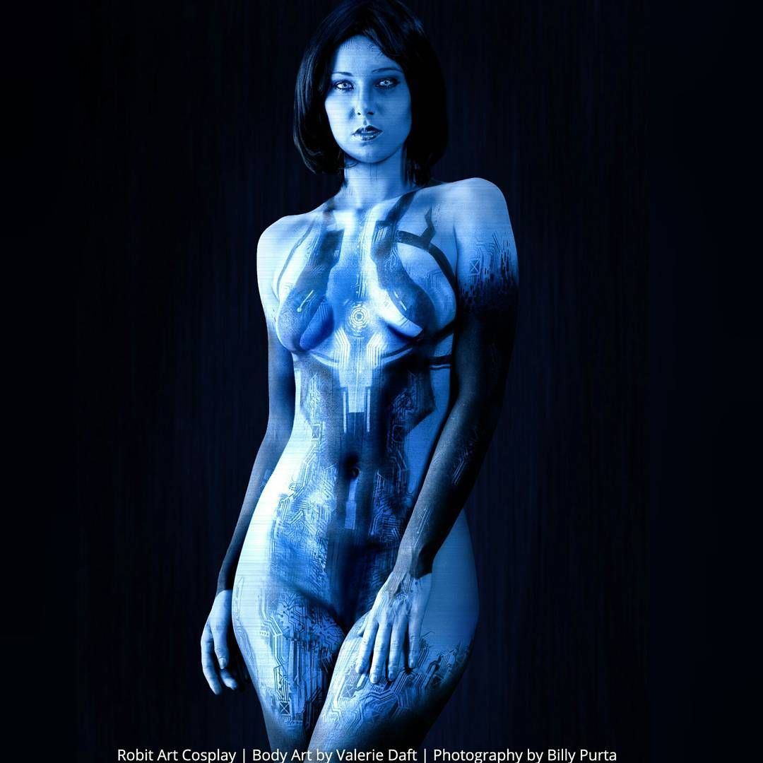 Cleavage Cortana Blue naked (62 photo), Tits, Leaked, Twitter, butt 2006