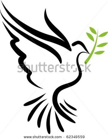 A Free Flying Vector White Dove Symbol By Marish Via Shutterstock