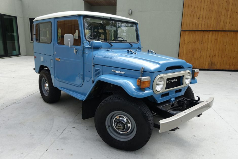 No Reserve 22 Years Owned 1978 Toyota Land Cruiser Fj40 In 2020 Toyota Land Cruiser Land Cruiser Toyota