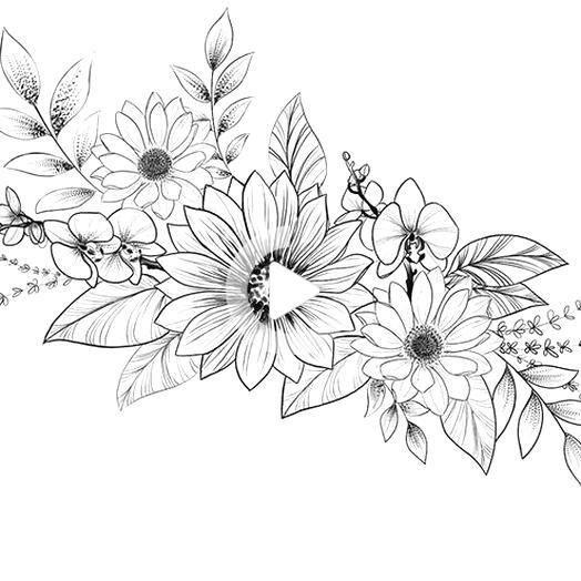 flower tattoos designs - flower tattoos designs floral patterns - smal