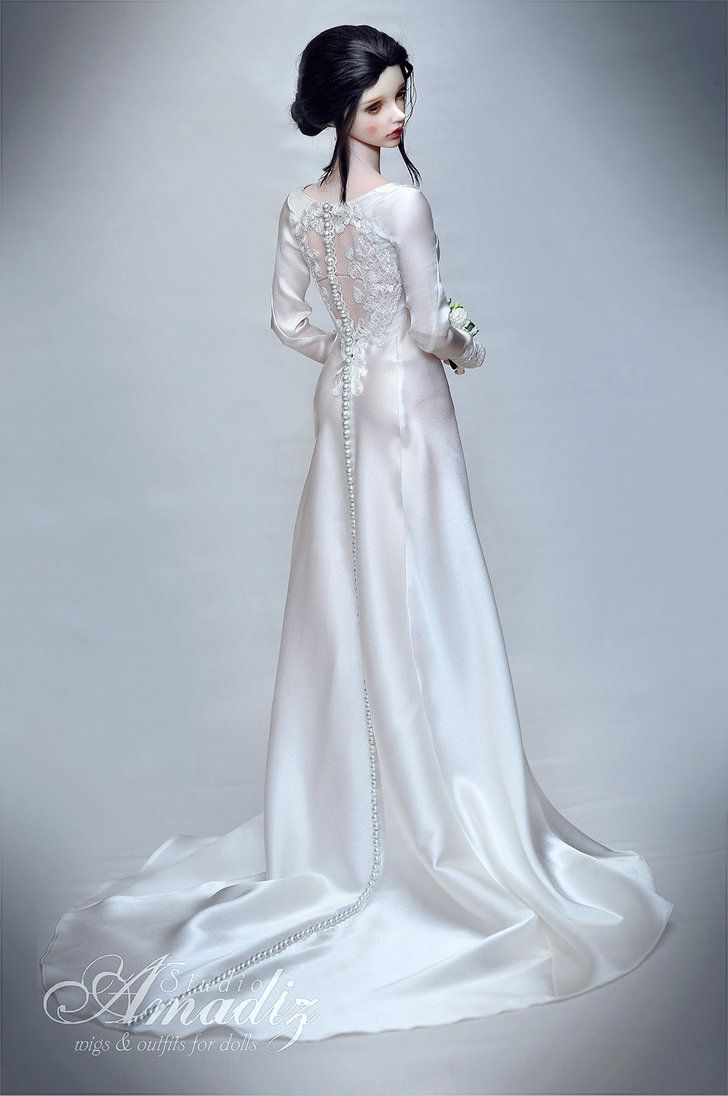 Bella Swan wedding dress 01 by amadiz on DeviantArt | Dolls More ...