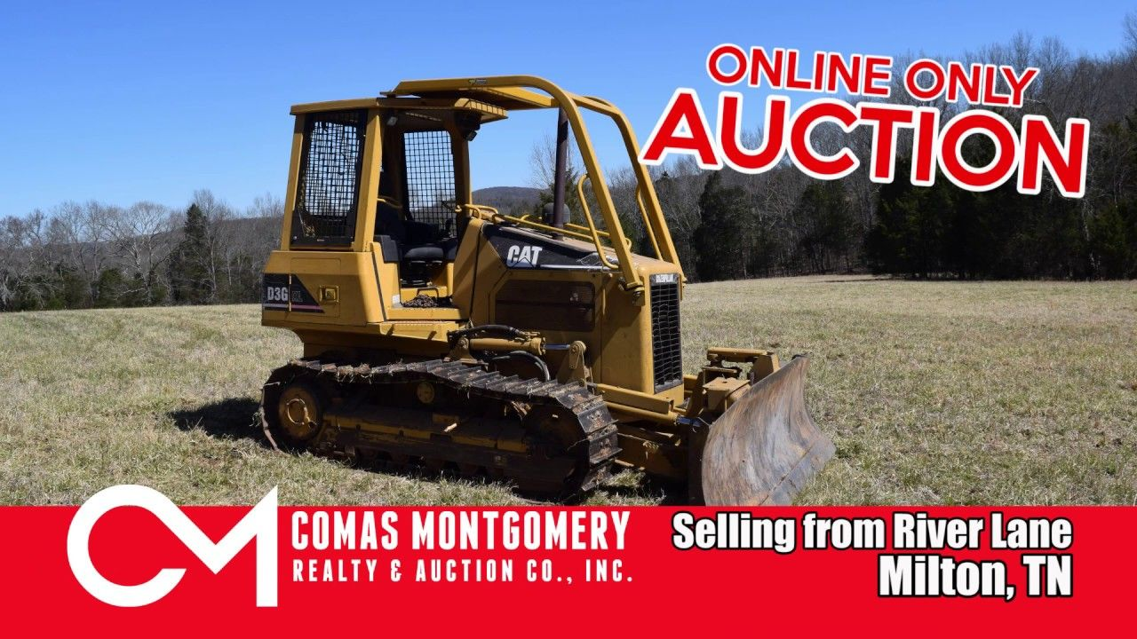 Pin on 5/5/19 FARM EQUIPMENT AUCTION CAT DOZER JOHN
