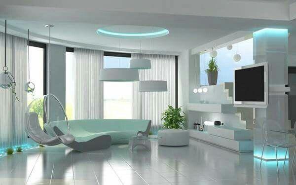 Salon Moderne Salon Luxueux Deco Salon Blanc Decoration Interieure Moderne
