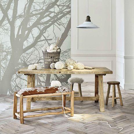 table de salle manger en manguier l 180 cm farmers maisons du monde cuisine pinterest. Black Bedroom Furniture Sets. Home Design Ideas