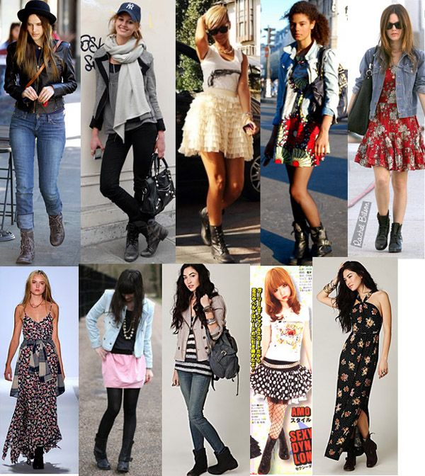i like maybe half of these looks... NO to top middle, both long ...