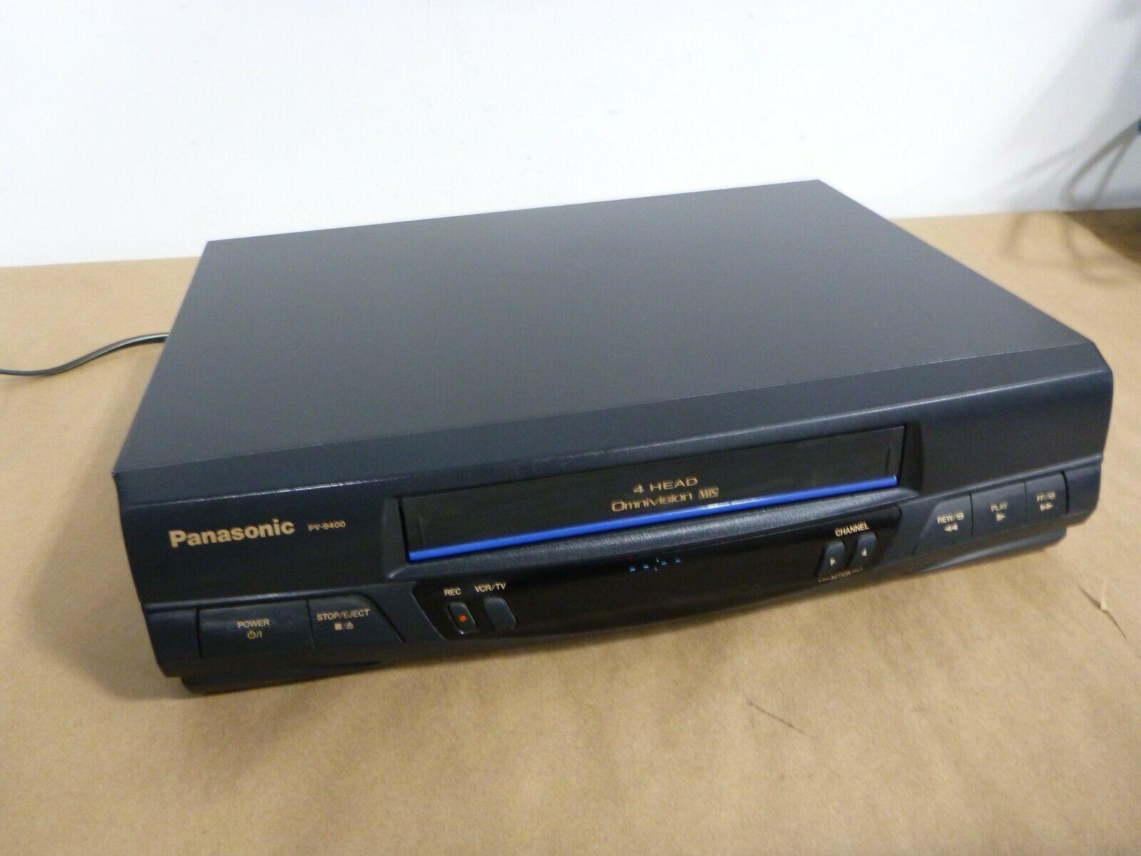 Panasonic Vcr Vhs Player Pv 9400 4 Head Hi Fi Vcr Video Cassette Recorder Vcr Vhs Hi8 Vcr Player Vcr Tapes Hifi