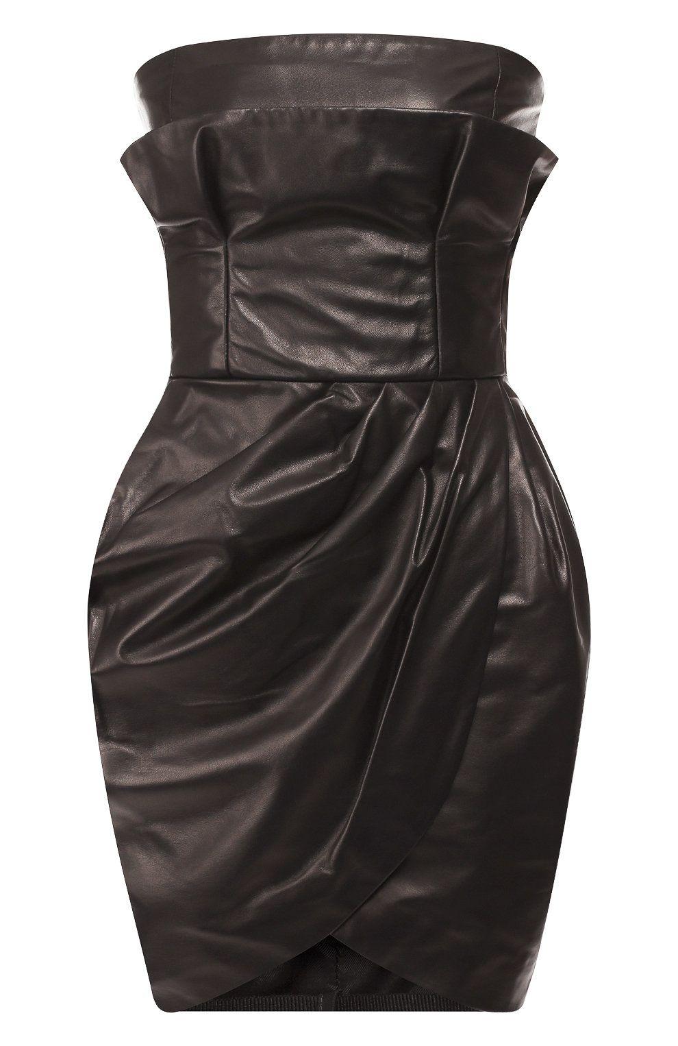 d6b8530a58 Кожаное мини-платье | Dresses | Womens fashion, Versace, Dresses