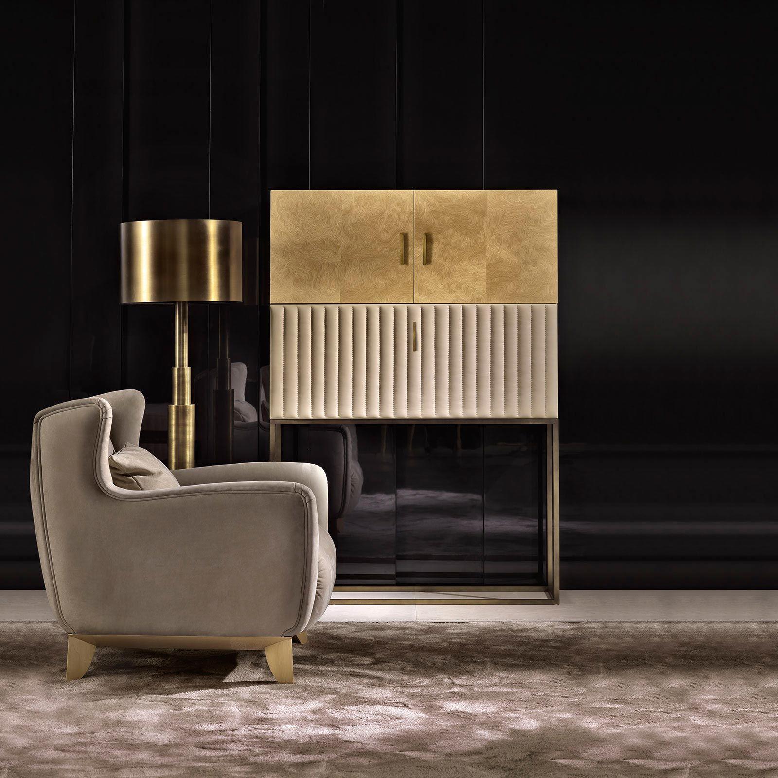 Daytona arredamento contemporaneo moderno di lusso arredo e mobili in stile art dec per la