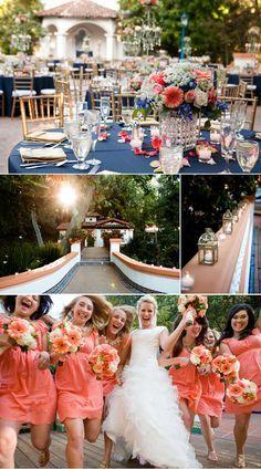 peach coral wedding on pinterest peach coral wedding