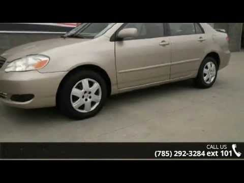 2005 Toyota Corolla Le Lewis Topeka Ks 66614 Hey Look Right Here You Won T Find A Better Sedan Than This Sweet