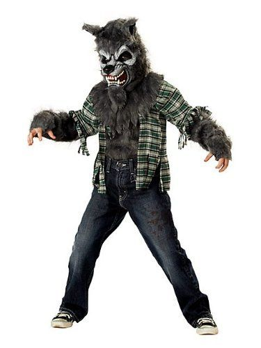Werewolf Toys For Boys : Kids wolf costumes for boys and girls scary werewolf