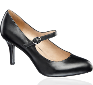 Strap Court Shoe - Shoes - Ladies - Deichmann - too high for work everyday but I really like them.