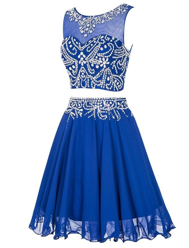 Teenage homecoming dresses de festa curto royal blue homecoming