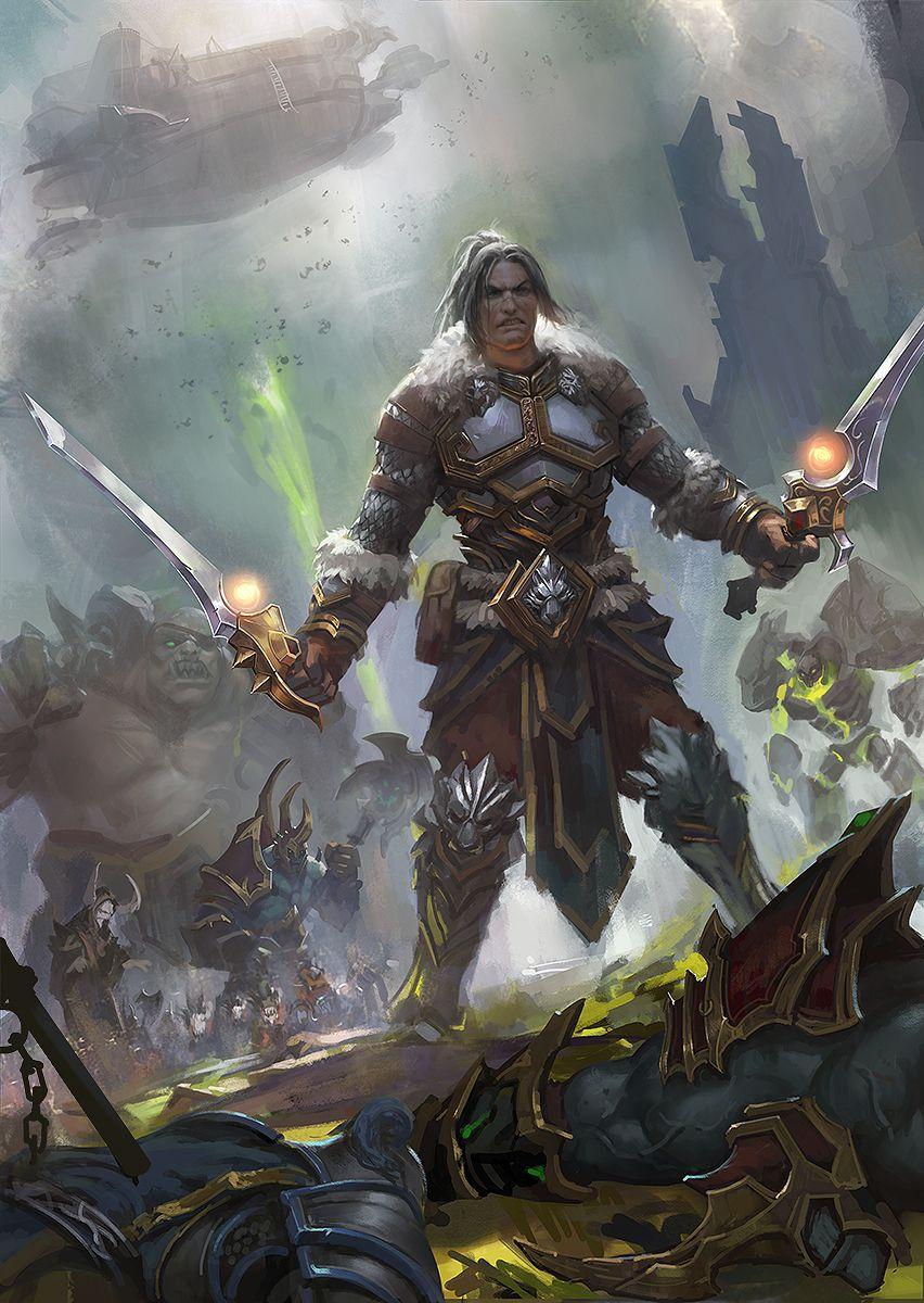 Varian Wrynn World of Warcraft zippo514 on DeviantArt