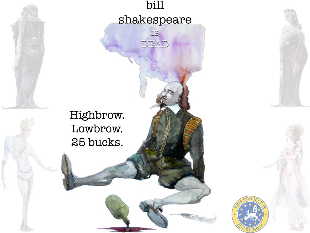 Bill Shakespeare Is Dead