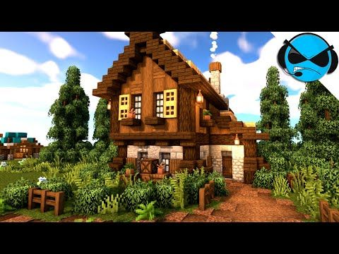 Minecraft How To Build A Medieval Large House Tutorial Minecraft 1 14 Build Tutorial Vozeli Com