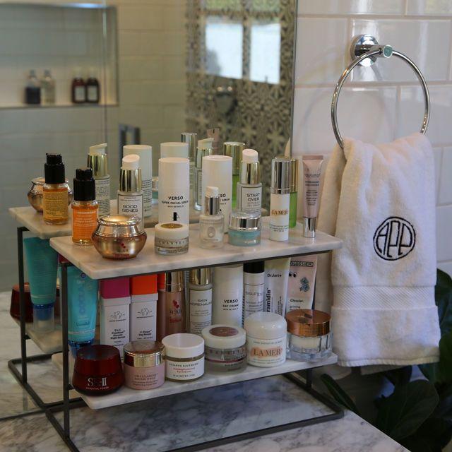 Alexandra Pakzad Lawyer Beauty Storage Makeup Organization