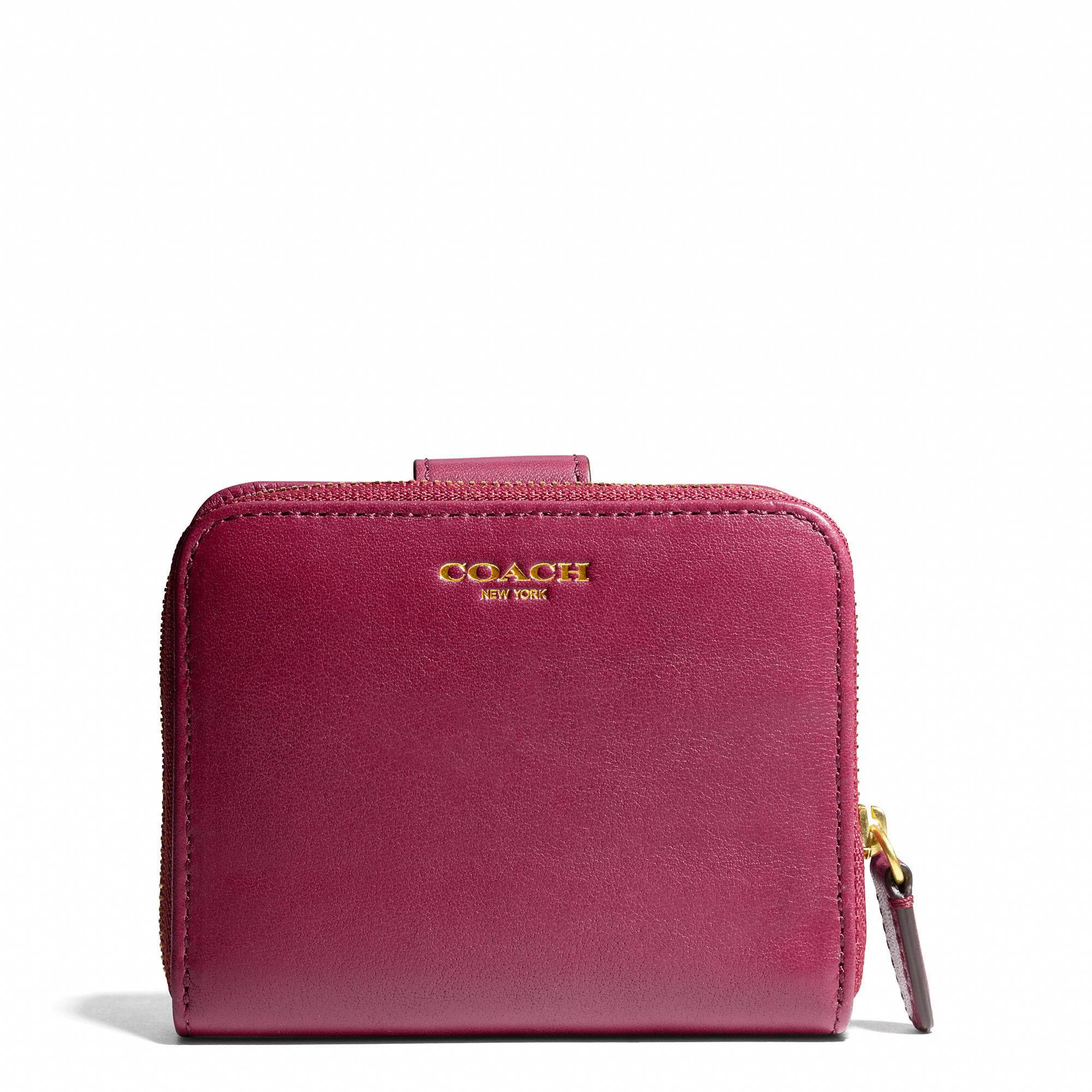bc27fdb868 The Legacy Medium Zip Around Wallet in Leather from Coach